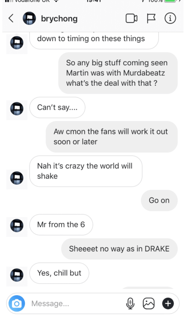 martin garrix drake collaboration screenshot