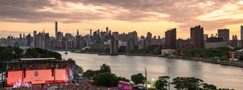 electric zoo all my friends stage