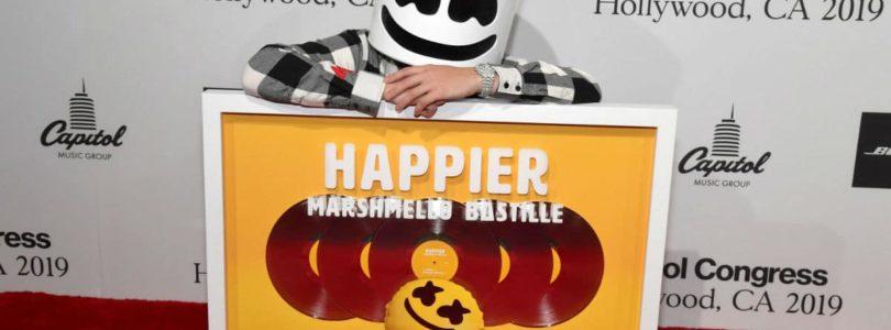 marshmello happier song