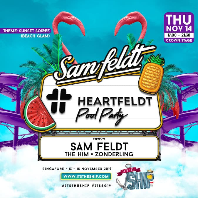 heartfeldt pool party its the ship singapore 2019