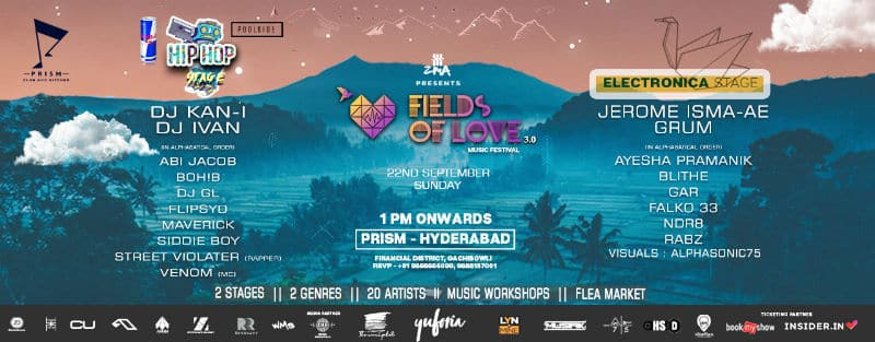 fields of love hyderabad 2019 lineup