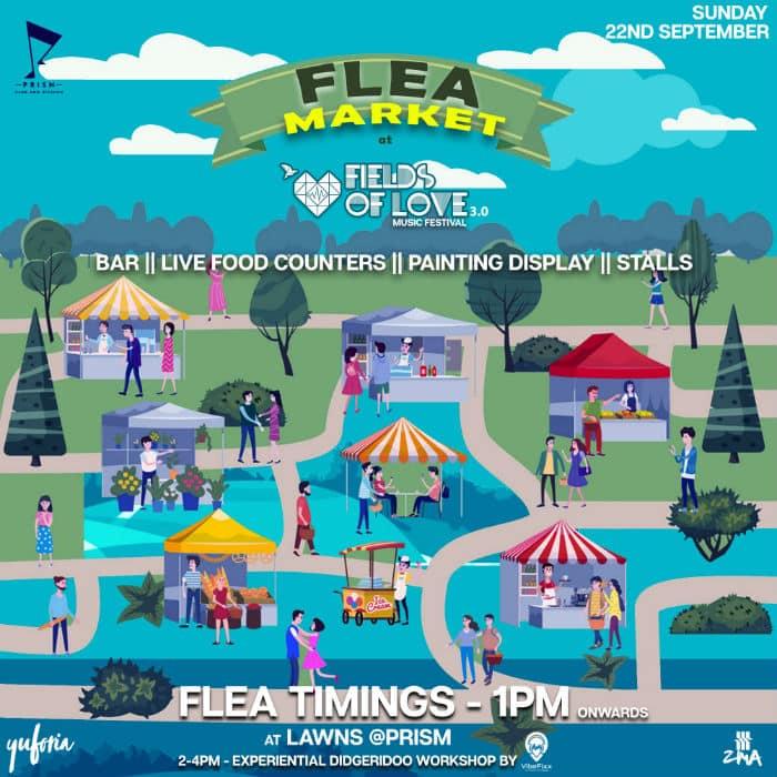 fields of love hyderabad festival flea market