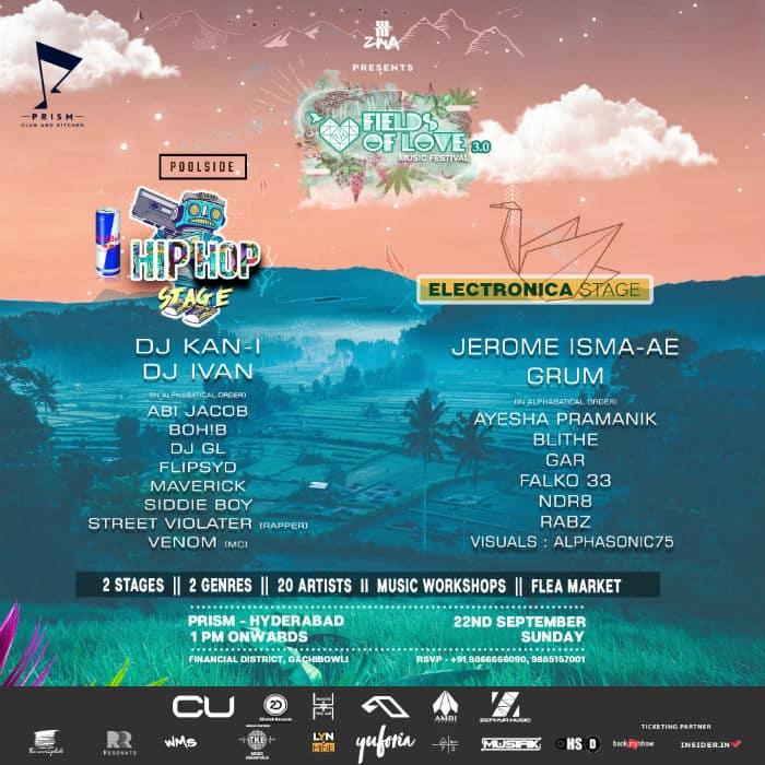 fields of love hyderabad festival lineup