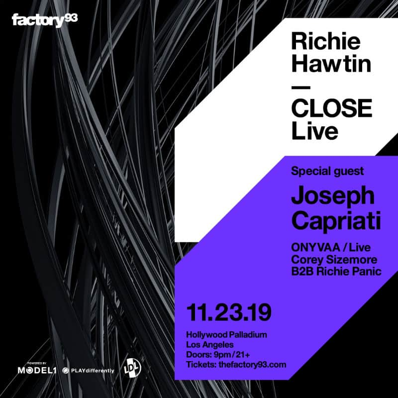 richie hawtin close los angeles