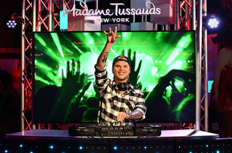 avicii madame tussauds new york