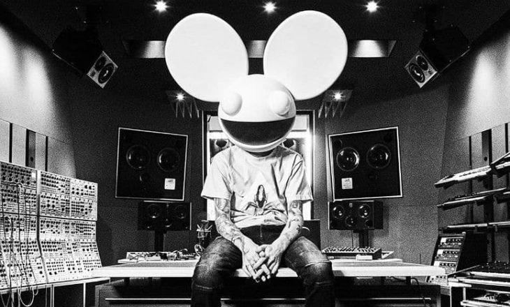deadmau5 New Remix Album 'here's the drop!' Out Now on mau5trap ile ilgili görsel sonucu