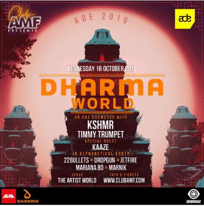 kshmr ade 2019 showcase lineup