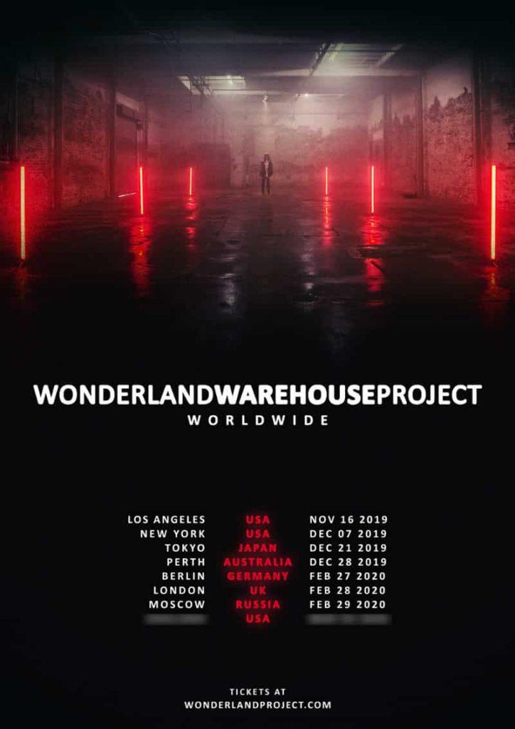 wonderland warehouse project 2019