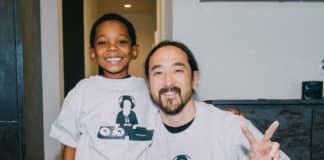 steve aoki jamar with kids wish network