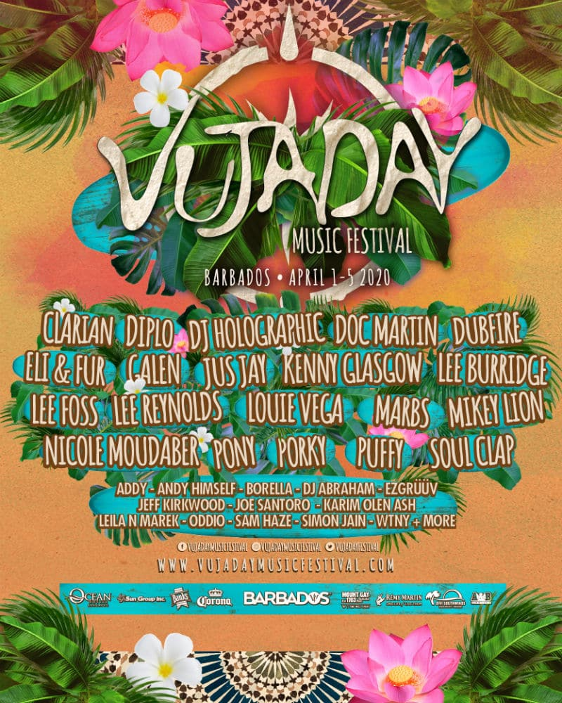 vujaday music festival lineup 2020