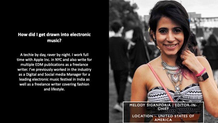 Melody Siganporia - Editor-In-Chief | T.H.E - Music Essentials