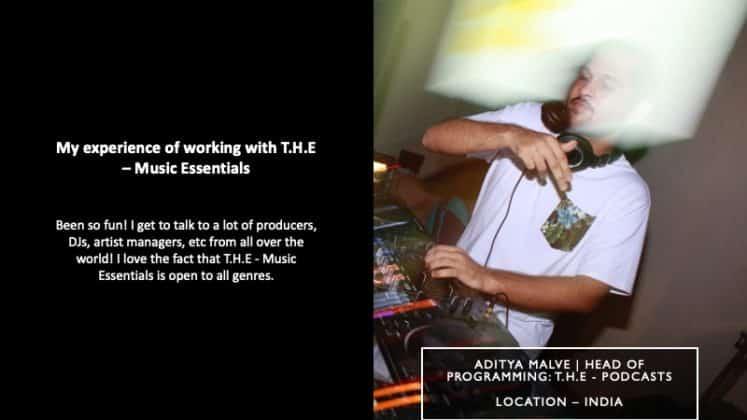 Aditya Malve - Head Of Programming For T.H.E - Podcasts | T.H.E - Music Essentials