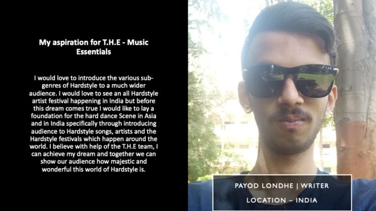 Payod Londhe - Writer | T.H.E - Music Essentials