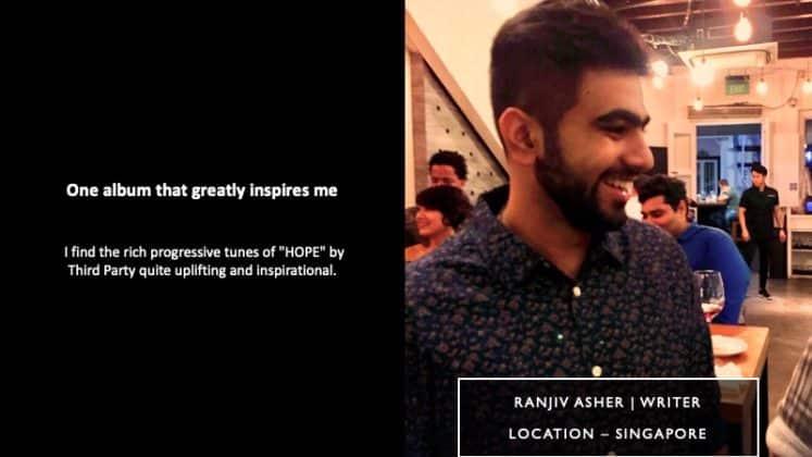 RAnjiv Asher - Writer | T.H.E - Music Essentials