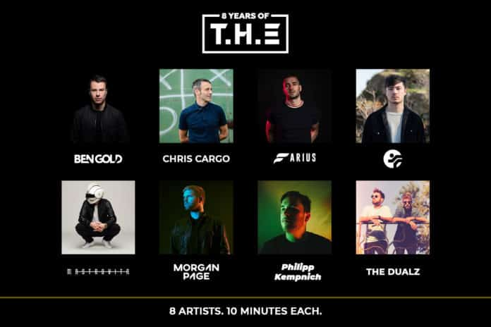 best latest dj mix 2020 by 8 artists to celebrate 8 Years Of T.H.E
