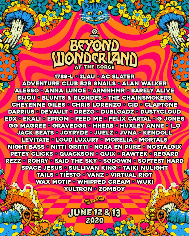 beyond wonderland 2020 pacific northwest lineup