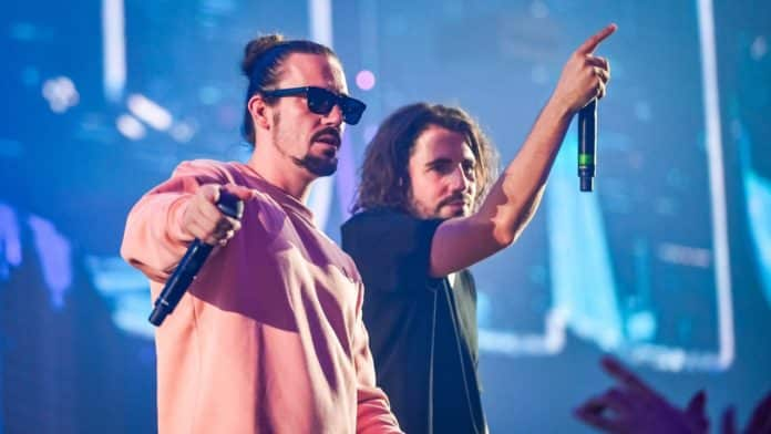 dimitri vegas and like mike bassjackers happy together