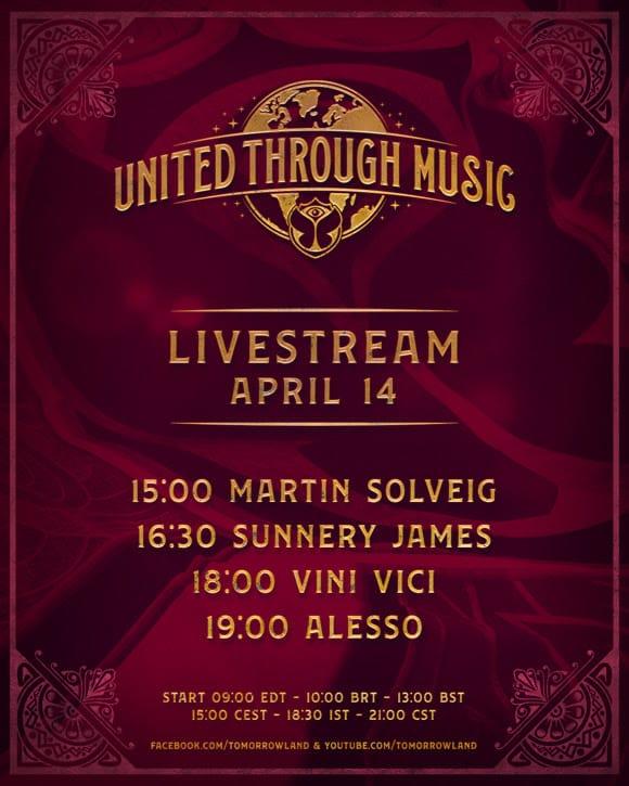 tomorrowland live stream april 14, 2020