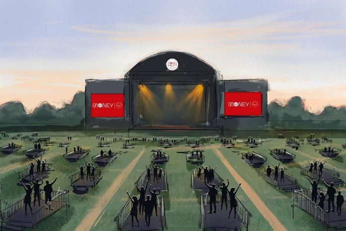 virgin money unity arena - socially distanced music venue