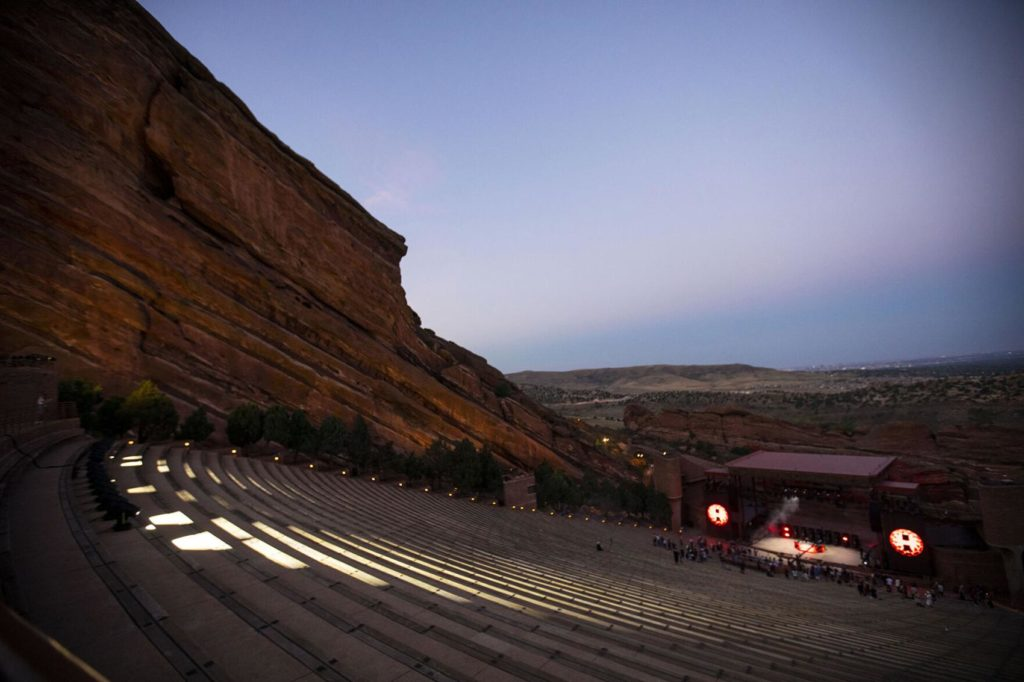 tiesto red rocks 2020 pictures