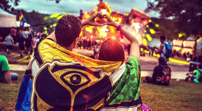 visiting music festivals with a partner