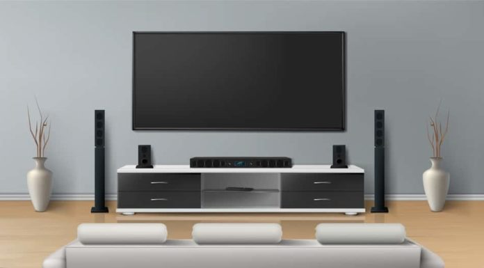home entertainment system ideas