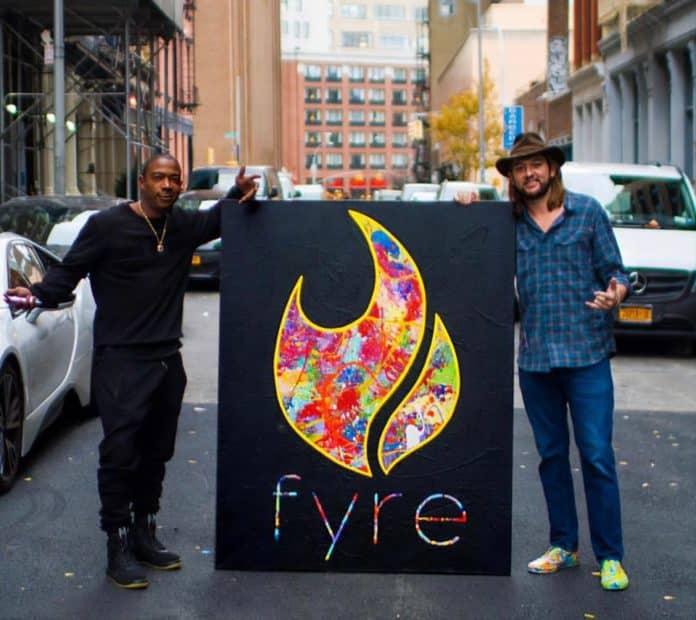 fyre festival ja rule artwork