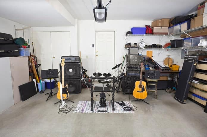 how to produce an album at home
