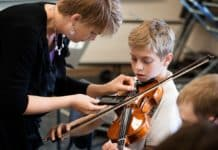 parents involvement in kids music lessons